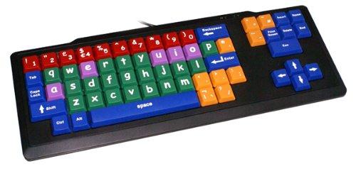 teclado de colores infantil