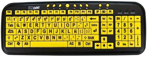 teclado amarillo