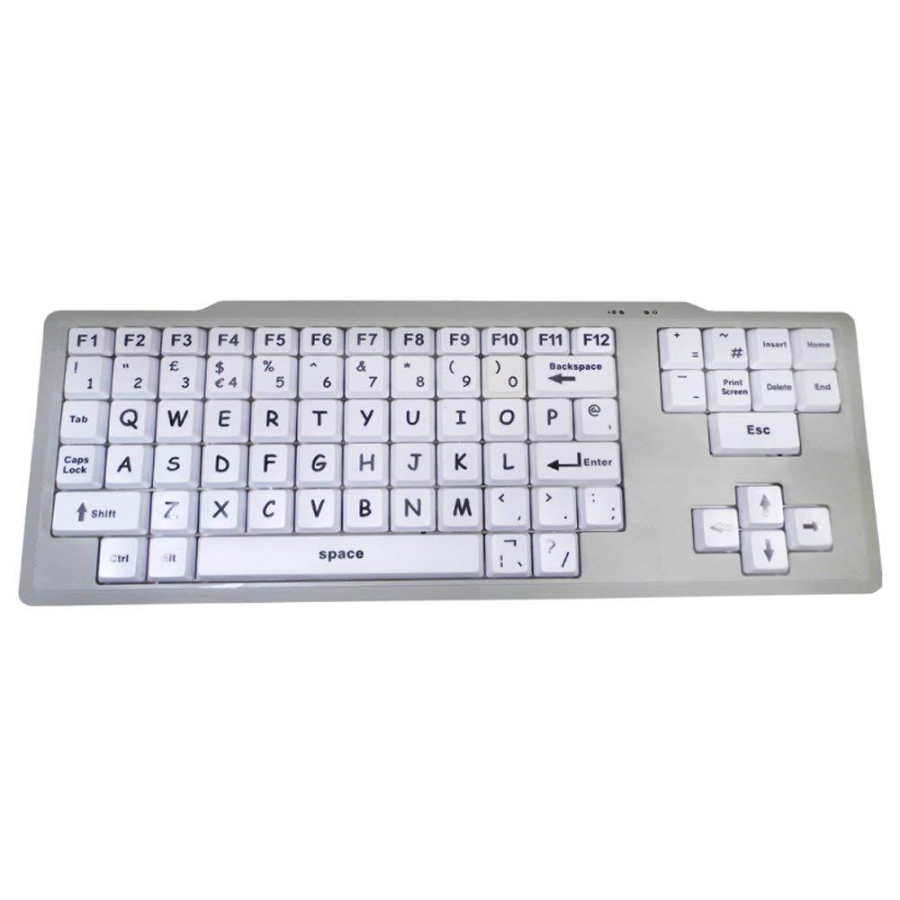 teclado blanco