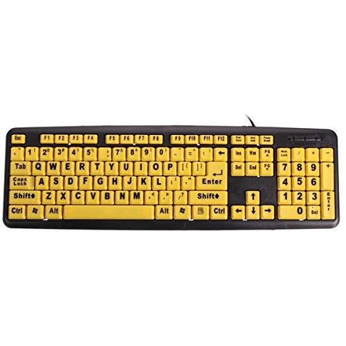 teclado amarillo dos