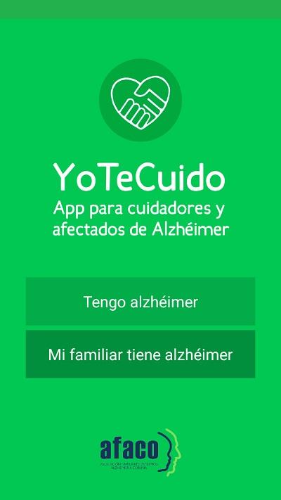 portada de la app
