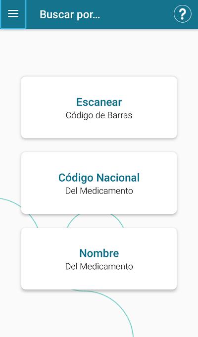 pantalla principal de medicamentos accesibles plus