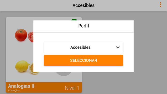 podemos utilizar perfiles para que varios usuarios utilicen la misma app a la vez