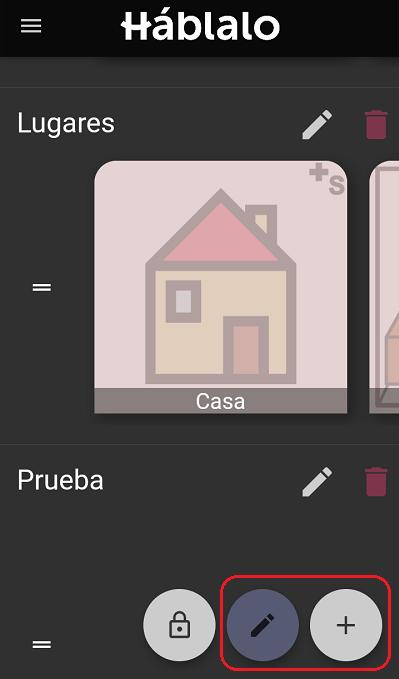 los pictogramas son editables, pudiendo personalizarlos. para niños y niñas con TEA